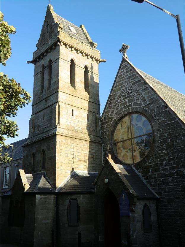 A view of St. Magnus' Church