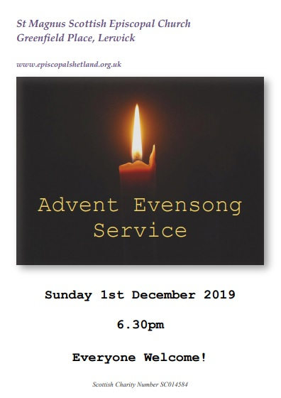 Advent Evening Service at St Magnus'