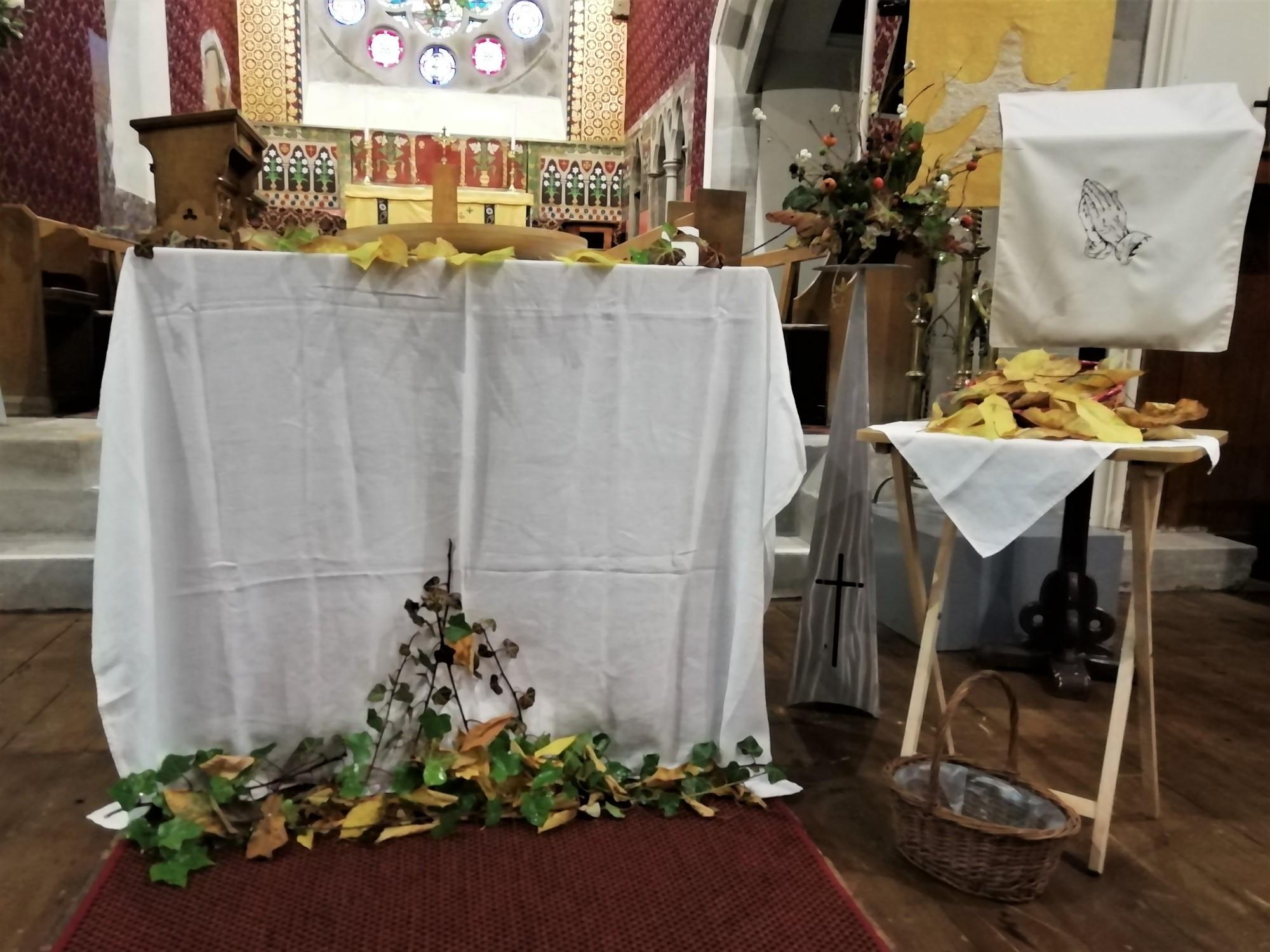 Fallen Leaves All Souls Day Service 2019
