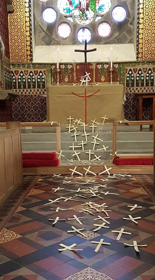 Palm Sunday broadcast from St Magnus'